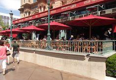 Desert Road, Bacon Salad, French Bistro, Fresco, Las Vegas, Road Trip, Menu, Street View, Amigos