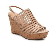 I am not going to compromise on having brown gladiators this summer. This piece is not exactly my favorite in that style but I will keep an eye out for one. Franco Sarto Sombre Wedge Sandal