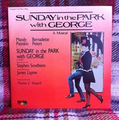 Sunday in the Park with George LP Vinyl Record by chezToulouse