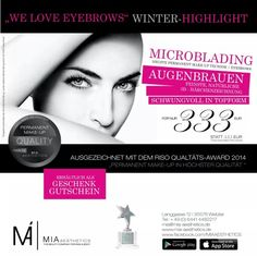 "Microblading ""Winter-Highlight"" by MIA Aesthetics #Microblading #PermanentMakeUp #Beauty #Love #Wetzlar #Hessen #Kosmetik"
