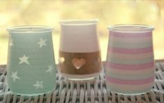 About the nice things: DIY Portavelas con washi tape