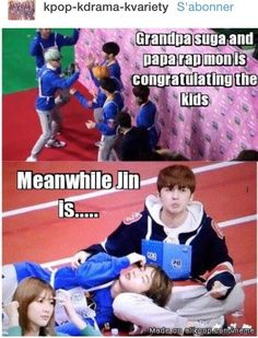omg JIN IS HAVING AN AFFAIR WITH KEN!!!! WHAT THE EFF?(can i just say they look adorable together jin+ken=perfection)