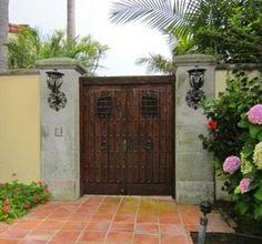 Old door entryway.