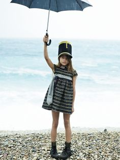 Thylane Blondeau for Collezioni Bambini (see more photos at the link)