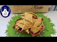 Käse Chips / Käse Kräcker für Naschkatzen selber backen, knusprig und lecker - YouTube