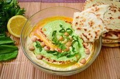 Hummus cu leurdă Hummus, Ethnic Recipes, Food, Mariana, Essen, Meals, Yemek, Eten