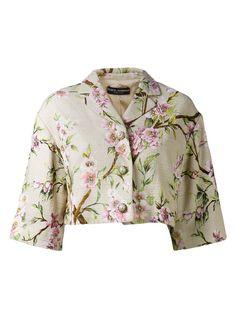 Dolce & Gabbana Floral Jacket - Capitol - Farfetch.com
