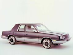 1982 � 1988 Chrysler LeBaron #coches #cars