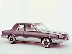 1982 � 1988 Chrysler LeBaron #coches #cars