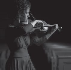 Beautiful photo of a Beautiful person who is widely know for her beautiful music.  Hilary Hahn.