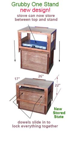 Grubby One camping chuck box and camp kitchen demonstration. - Grubby One camping chuck box and camp kitchen demonstration. Camping Chuck Box, Camping Set, Family Camping, Camping Ideas, Camping Hacks, Vintage Caravans, Vintage Travel Trailers, Vintage Campers, Camp Kitchen Box