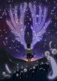 Manchmal wünschte ich mit Flügel um einfach der Realität davon zu fliegen