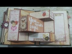 "#5 Prima Marketing  ""Love Clippings""  Cabinet tutorial - YouTube"