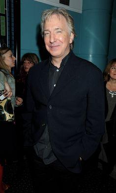"Alan Rickman attends the UK premiere of ""Rachel Getting Married"" - London Film Festival | October 20, 2008"