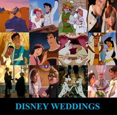 Disney Wedding's!