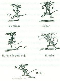 Ilustración de Tony Ross para la obra La increíble historia de los bocadillos de rata, de David Walliams.