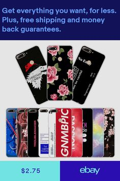 Soft TPU Silicone Case For Huawei Y7 Prime 2018 Phone Back Cover Enjoy 8  Words 8c5e5aa1ef62