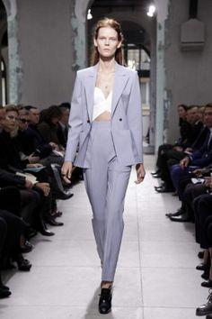 b18101b6de4 Miu Miu Printed Suits Fall 2012 Prints muy geometricas. Kanika Jain · Suit  up!!! Balenciaga Paris Womenswear S S 2013. Beautiful blue suit Balenciaga  Spring ...