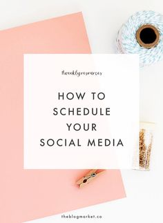 How to Schedule Soci
