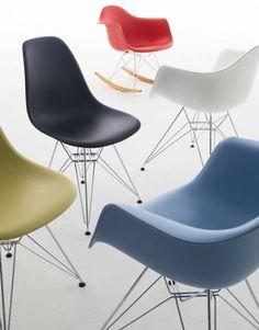 Vitra Eames Plastic Chairs   Designlinq