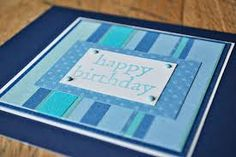 Image result for handmade birthday cards male