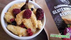 Túrónudli Szafi Free gluténmentes lisztből Gnocchi, Kenya, Acai Bowl, Oatmeal, Breakfast, Free, Fitness, Acai Berry Bowl, The Oatmeal