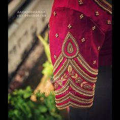 aadambharaa designer bridal on Instagram: Welcoming the Brides of 2020  F Kerala Saree Blouse Designs, Cutwork Blouse Designs, Simple Blouse Designs, Bridal Blouse Designs, Blouse Neck Designs, Hand Work Blouse Design, Aari Work Blouse, Traditional Blouse Designs, Mary Janes