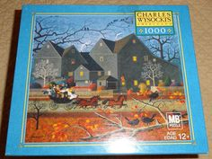 NEW HELLRAISERS ON HALLOWEEN NIGHT 1000 PIECE JIGSAW PUZZLE CHARLES WYSOCKI #MB