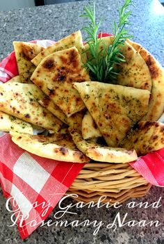 Our Good Life: Easy Garlic and Rosemary Naan Indian Cookbook, Naan Recipe, Cooking Challenge, Fried Fish Recipes, Great Recipes, Delicious Recipes, Recipe Ideas, Vegan Recipes, Favorite Recipes