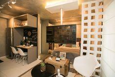 Apartamento decorado do Diseño Alto de Pinheiros, da Even