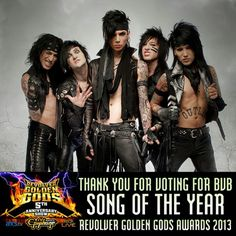 Black Veil Brides Congratulations!!!!!!