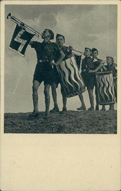 Hitler Jugend postcard