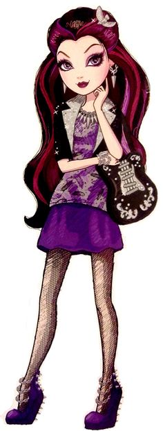 Ever After High - Raven Queen! Contrary to popular belief at Ever After High, Raven Queen is not evil or even so much as mean. Baba Yaga, Ever After High Rebels, Enchanted, Lizzie Hearts, Disney Decendants, Raven Queen, After High School, Dc Super Hero Girls, Dragon Games