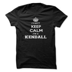 I cant keep calm, Im A KENDALL - #gift ideas #gift amor. LIMITED AVAILABILITY => https://www.sunfrog.com/Names/I-cant-keep-calm-Im-A-KENDALL-pdzhgronlp.html?68278