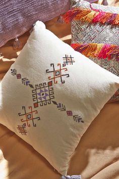 4040 Locust Samote Embellished Pillow