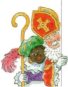 Groetjes van Sint en Piet.
