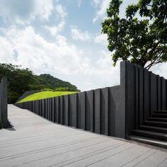 23 Estate & The Valley, Khao Yai – Wison Tungthunya & W Workspace Fence Gate Design, House Gate Design, Gate House, Entrance Design, Villa Design, Entrance Gates, Facade Design, Landscape Walls, Landscape Design