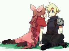Aerith & Cloud because this is how it should be