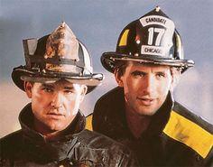 "Lt. Stephen ""Bull"" McCaffrey/Capt. Dennis McCaffrey (Kurt Russell) & Brian McCaffrey (William Baldwin) - Backdraft (1991)"