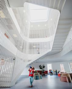 cobe architects forfatterhuset kindergarten copenhagen. Spotted by @missdesignsays Content Curator #allgoodthingsdanish #architecture via @designboom