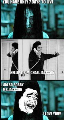 "Awww even ""The Ring"" girl is part of the MJFAM <3"