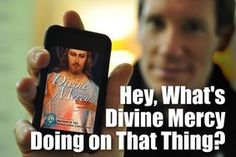 The free App from the Marian Fathers--An easy way to say the Divine Mercy  Chaplet along with other great resources.  Search your app store to get it.