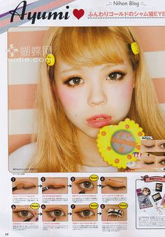 zipper magazine | Moda Japonesa - Zipper Magazine e seu tutorial de Maquiagem ...