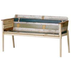 Scrapwood Arm Bench スクラップウッド アームベンチ design: Piet Hein Eek / ピート・ヘイン・イーク