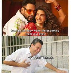 When Shashi Tharoor Hears Badshah's Genda Phool Lyrics. Exam Quotes Funny, New Funny Jokes, Very Funny Memes, Sarcastic Jokes, Mom Jokes, Funny Jokes In Hindi, Funny School Jokes, Funny Relatable Quotes, Jokes Quotes