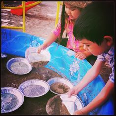 Western Party Gold panning
