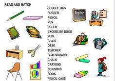 School things worksheet - Free ESL printable worksheets made by teachers