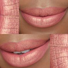 Metallic pink LIQUID LIPSTICK - Anastasia Beverly Hills (@anastasiabeverlyhills) 'Kathryn' SHADOW - ABH (@norvina) 'Glisten' Photo Inspo - The beautiful @jaythomasbeauty by thetemiotouch