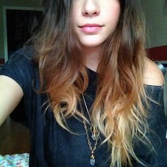 blonde ombre hair! This is really cute