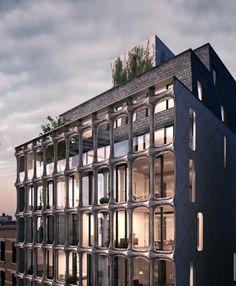 DDG reinterprets cast iron façades of #SoHo — #architecture #NYC via @archpaper